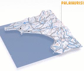 3d view of Palaiá Vrísi