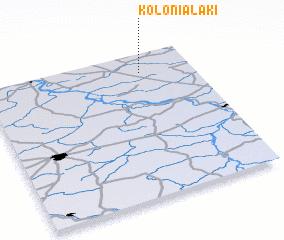 3d view of Kolonia Łąki