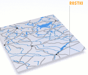 3d view of Rostki