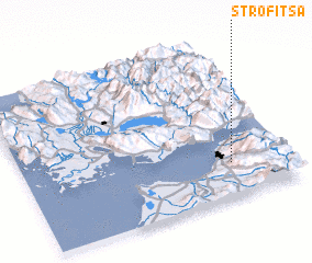 3d view of Strofítsa