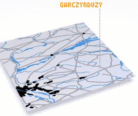 3d view of Garczyn Duży