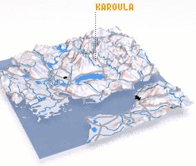 3d view of Karoúla