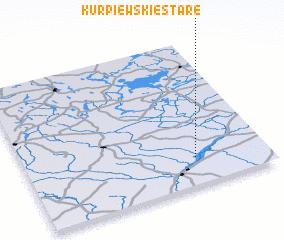 3d view of Kurpiewskie Stare