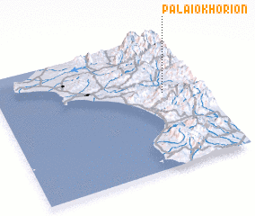 3d view of Palaiokhórion