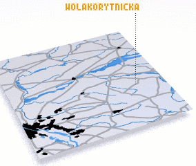 3d view of Wola Korytnicka