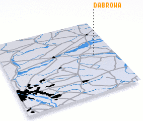 3d view of Dąbrowa