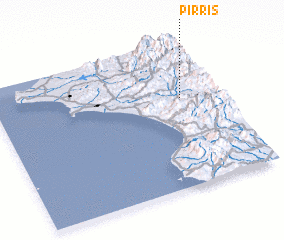 3d view of Pirrís