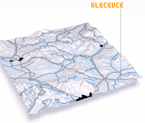 3d view of Klečevce