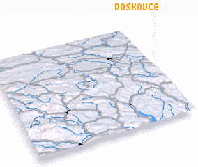 3d view of Roškovce