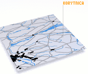 3d view of Korytnica