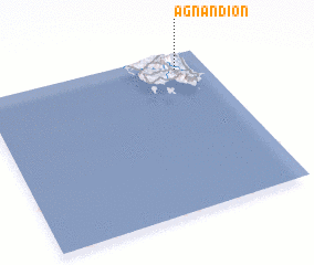 3d view of Agnándion