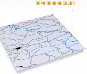 3d view of Kopanina Kamienska