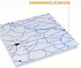 3d view of Kopanina Kaliszańska