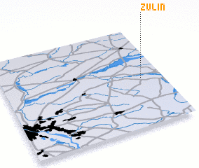3d view of Żulin