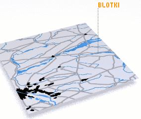 3d view of Błotki