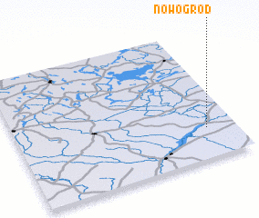 3d view of Nowogród