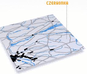 3d view of Czerwonka