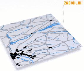 3d view of Żabokliki