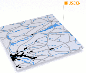 3d view of Kruszew
