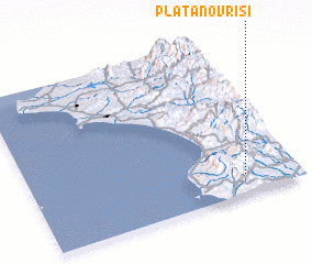 3d view of Platanóvrisi