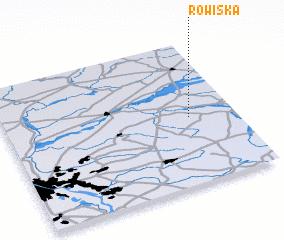 3d view of Rowiska