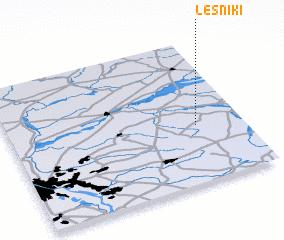3d view of Leśniki