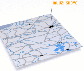 3d view of Kaluzhskoye