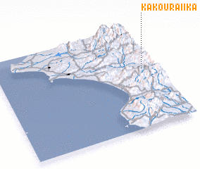 3d view of Kakouraíika