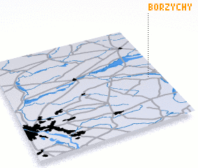 3d view of Borzychy