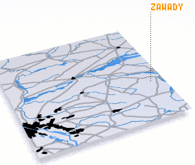 3d view of Zawady