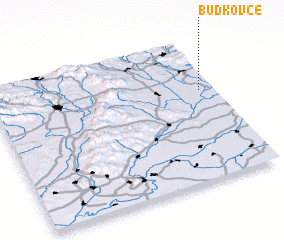 3d view of Budkovce