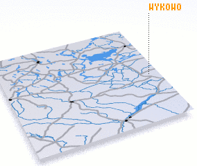 3d view of Wykowo