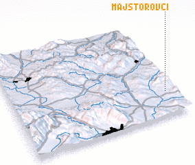 3d view of Majstorovci
