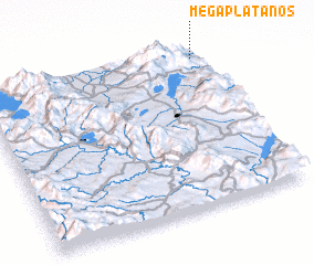 3d view of Megaplátanos