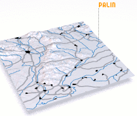 3d view of Palín