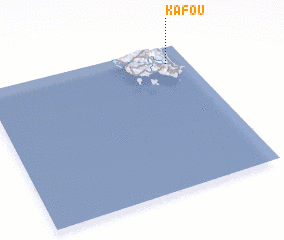 3d view of Kafoú