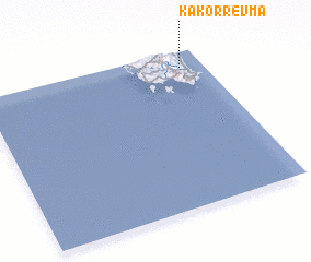 3d view of Kakórrevma
