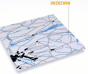 3d view of Orzechów