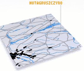 3d view of Huta Gruszczyno