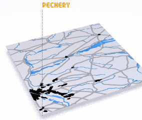 3d view of Pęchery