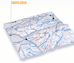 3d view of Gavojdia