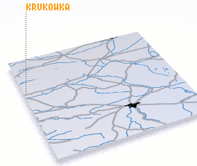 3d view of Krukówka