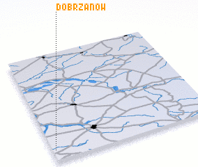 3d view of Dobrzanów