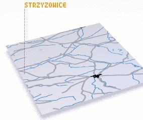 3d view of Strzyżowice