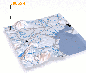 3d view of Édessa