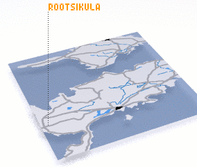3d view of Rootsiküla