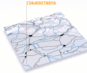 3d view of Csajkostanya