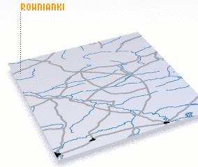 3d view of Równianki