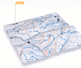 3d view of Jena