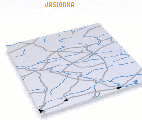 3d view of Jasionka
